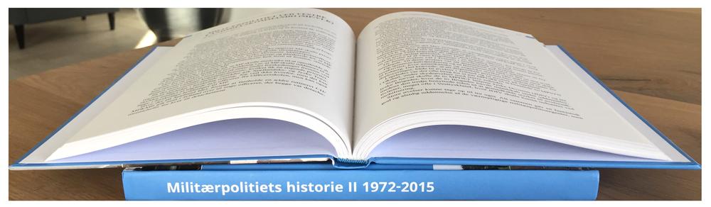 Grafisk layout og opsætning af bog for Militærpolitiforeningen