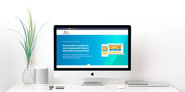 Hjemmeside til emotionelle kundetyper