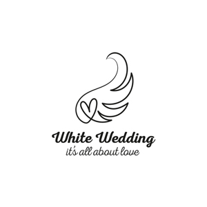 Logo White Wedding
